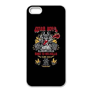 iPhone 5 5s Cell Phone Case White Road to Valhalla Tour YJP Kovet Phone Covers