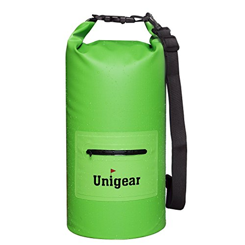 Waterproof Dry Bag Sack With Zip Pocket For Boating