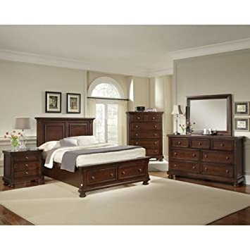 Walden 6 Piece King Storage Bedroom Set