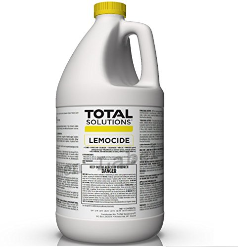 Professional Disinfecting Mildew, Virus & Mold Killer - Cleans & Deodorizes, Lemon Scent (1 Gallon Super Concentrate) Concrobium Mold Control