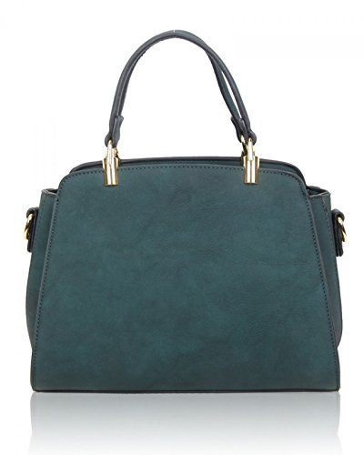 Tote Olive Small Women's Quality LeahWard Leather Handbags Size Faux Her For Holiday 518 Cute Bag 6xwxd185