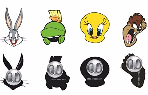 (Looney Tunes TV Series Characters Set of 4 Metal Enamel Finish Pins)