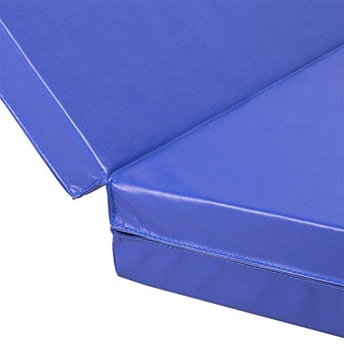 PayLessHere 4'x8'x2 Thick Folding Panel Gymnastics Mat Gym Fitness Exercise Mat