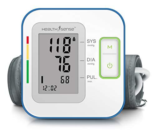 HealthSense Heart-Mate BP 100 Upper Arm Automatic Digital Talking Blood Pressure Monitor Machine & Pulse Checking…