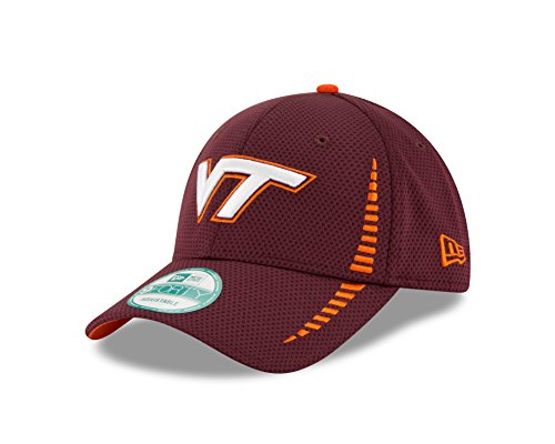 Virginia Tech Hokies Cap (NCAA Virginia Tech Hokies Unisex New Era NCAA NE Speed 9FORTY Adjustable Cap, Maroon, One)