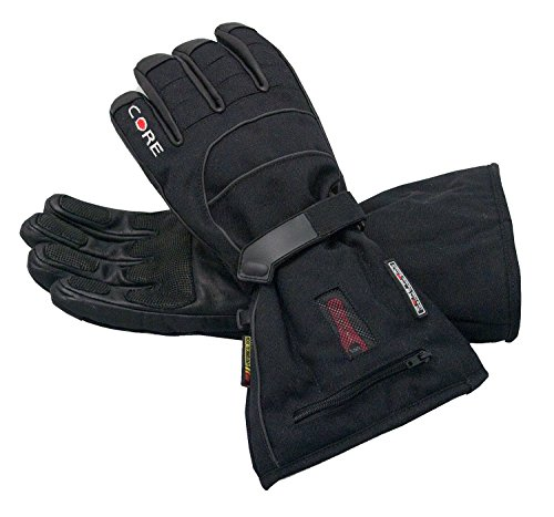 Heated Core Heat S2 Gloves, Battery Powered, Men's Black M by Gerbing