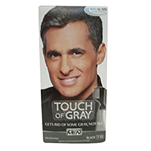 Just For Men Touch Of Gray, Black, 1 Application  (Pack of 3)