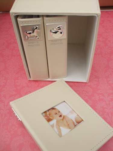 Baby Photo Albums - Box Set of 3 by Widdop Bingham