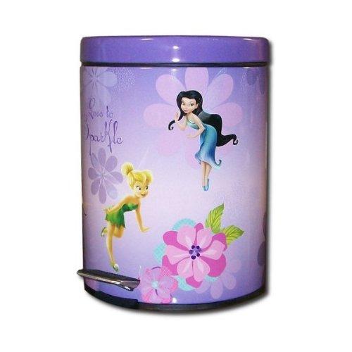 Disney Fairies Tinkerbell Garbage Can, Baby & Kids Zone
