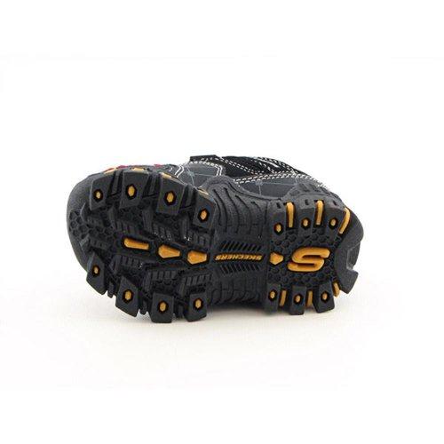Skechers Hot Lights A10 Warthog Jungen Schuhe Sneaker - schwarz