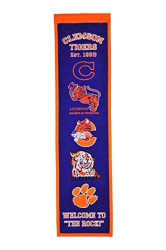 NCAA Clemson Tigers Heritage Banner