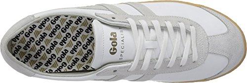 Gola Mens Special Leather Bianco / Bianco / Gomma