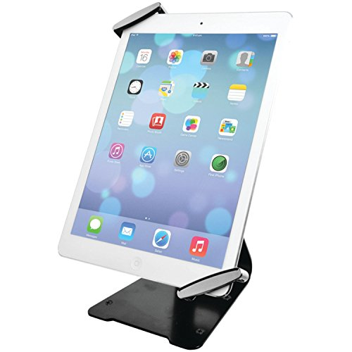 CTA Digital Universal Anti-Theft Security Grip with POS Stand for Tablets - 11-Inch iPad Pro (2018), iPad Air 2, iPad Mini 4, Galaxy Tab, Note 10.1, 7-11-Inch Tablets (PAD-UATGS)