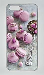 Sweet Macarons-2 Sakuraelieechyan Iphone 5/5S Hard Shell Transparent Sides Case