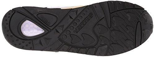 Originali Saucony Mens Griglia 9000 Sneaker Nero / Crema