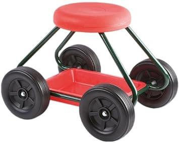 Wenko 5857010500 sedia da giardino con ruote: amazon.it: giardino e