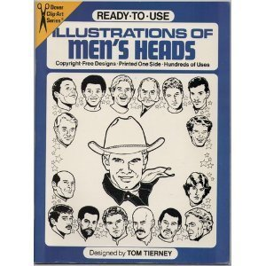 Ready-To-Use Illustrations of Men's Heads (Dover Clip-Art Series)