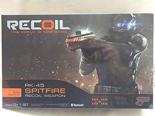 (Recoil RK-45 Spitfire Recoil Weapon for Use with Recoil Starter Set Ages 12+ New)