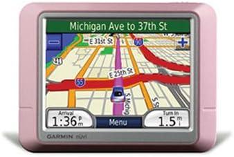 Garmin nuvi 250 3.5-Inch Portable GPS Navigator Pink