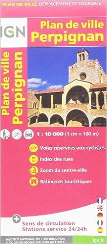 Livres 72543 PLAN DE PERPIGNAN SANS LIVRET  1/10.000 pdf