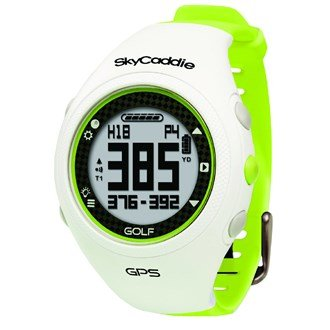 (SkyCaddie GPS Golf Watch White/Green (Limited Edition))