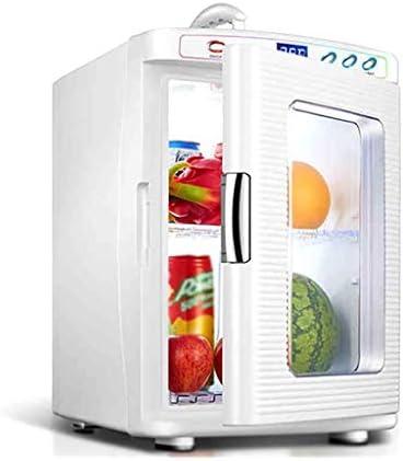 ZWH-ZWH ミニ冷蔵庫ポータブル25リットル、車冷暖房ボックスカー冷蔵庫カーミニ冷蔵庫付きの窓ファミリーカー小型冷蔵庫、デュアルコア 車載用冷蔵庫