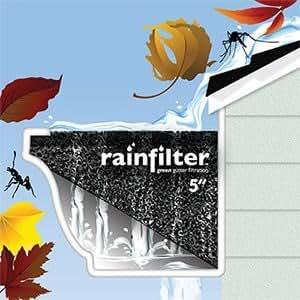 Amazon Com Rainfilter Green Gutter Filtration 100 Green