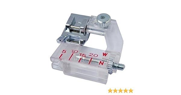 Prensatelas para bies ajustable Honeysew para máquinas de coser ...