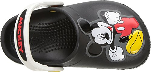 Image of Crocs Boys' Kids' Fun Lab Micky Mouse Clog, Black, 8 M US Toddler
