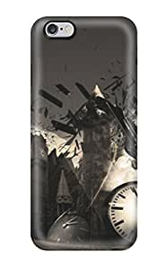 Special Robert Minor Skin Case Cover For Iphone 6 Plus, Popular Abstract Temporary Collapse Phone Case