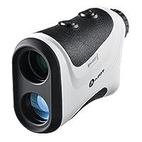AZOT Golf Rangefinder - Golf Laser Range Finder Accurate To 1 Yard, 650 Yard Range, 6X Magnification Speed Measurement