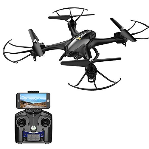 Holy Stone HS200 FPV RC Drone with HD WiFi Camera Live Feed 2.4GHz 4CH 6-Axis Gyro Quadcopter with...