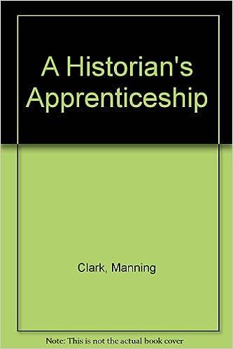 Book A Historian's Apprenticeship