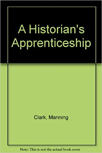 A Historian's Apprenticeship