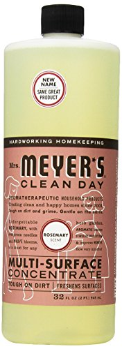 Mrs. Meyer's Clean Day Multi-Surface Concentrate, Rosemary, 32 fl oz