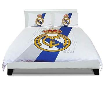 linge de lit real madrid Parure de lit double housse de couette FC Barcelone ? Manchester  linge de lit real madrid