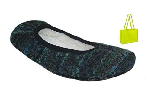 Gift Multi Softie Bag Slipper Blue Dearfoams ZqEzXwx