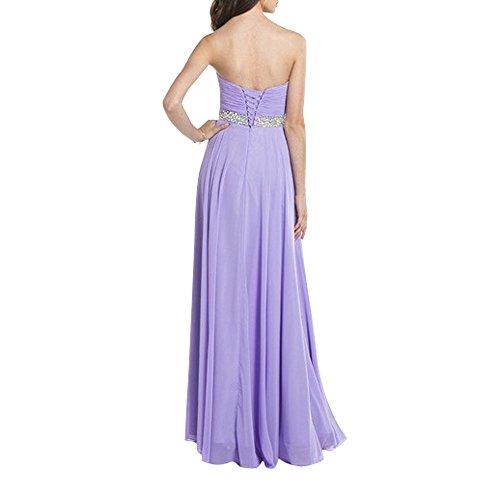 Lilac La Promkleider Formalkleider Abendkleider Ballkleider Brau Langes Festlichkleider Chiffon Neu mia Brautmutterkleider qxUawqgPf