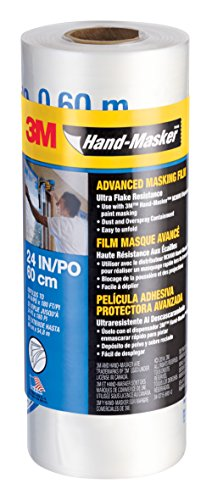 (3M Hand-Masker Advanced Masking Film 24-Inch x 180-Feet, 12-Roll Case Pack (AMF24))