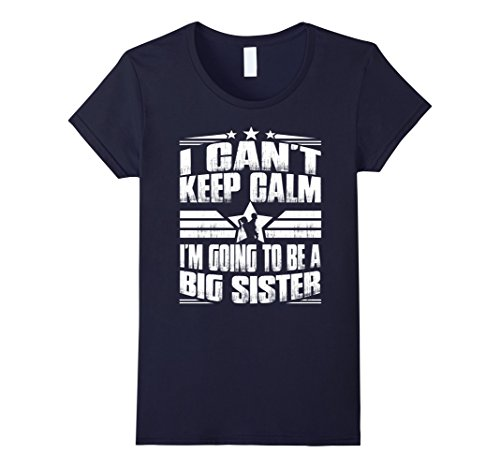 womens-i-cant-keep-calm-im-going-to-be-a-big-sister-tshirt-small-navy