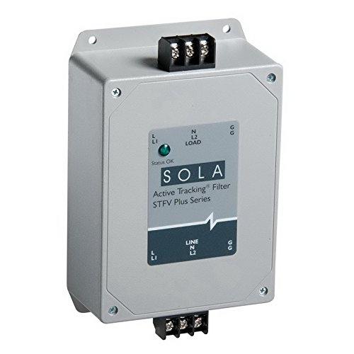 Sola/Hevi-Duty STFV050-10N Active Tracking STFV Plus Series Filtering With Surge Protection 120 Volt AC 1 Phase #6 Screw/Panel Mount