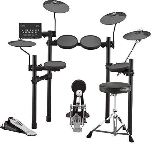 [해외] 야마하 전자 드럼 세트 드럼 의자・심벌즈 패드 부속 DTX432KUPGS