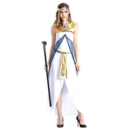 Slocyclub Women's Grace Greek Goddess Costume Aphrodite Long Dress (Cheap Greek Goddess Costumes)