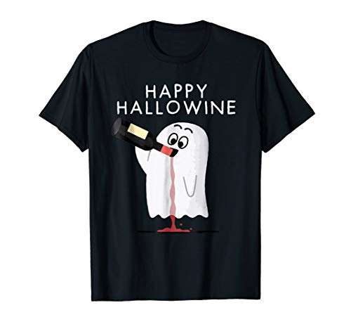 Happy Hallowine T-shirt for $<!--$18.45-->
