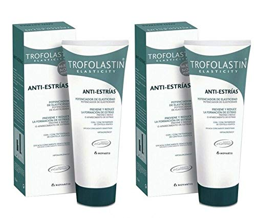 2 Tubes TROFOLASTIN Anti-Stretch marks 250ml 8.45 floz. 500ml Total Facial Care Gift