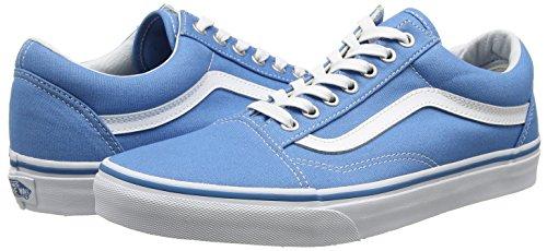 Ginnastica White Unisex Cendre true Old Blue canvas Adulto Scarpe Basse Skool Da Blu Ua Vans XF1qBB