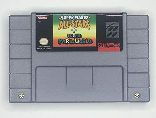 Super Mario All stars Super Mario World SNES Super Nintendo (Mario All Stars And Super Mario World)