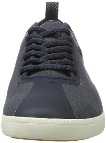Boxfresh Wieland Sh CNVS NVY, Men's Low-Top Blue (Navy)
