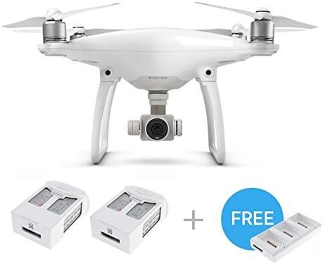 DJI Pack Phantom 4 Drone + 2 baterías + 1 Hub Cargador: Amazon.es ...