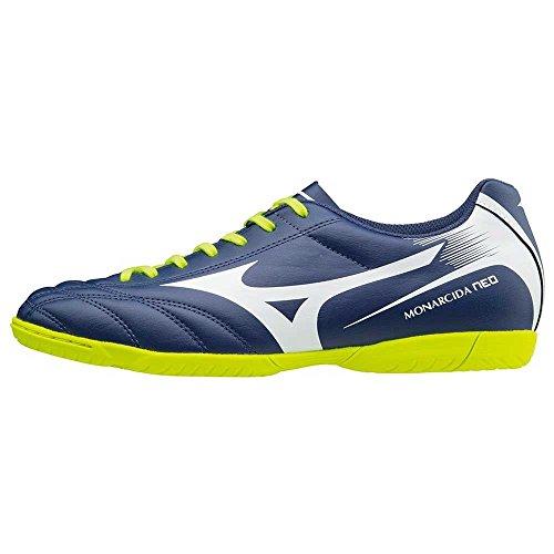 Indoor blanc 42 giallo Futsal Neo Monarcida de Bleu Chaussure YzqwEE